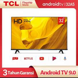 TCL LED 32 inch (32A5) Smart TV Android 9 Pie Full Screen Netflix