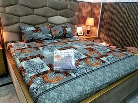 *GulAhmed* Cotton Bedsheets By *Kainaat Textile Faisalabad