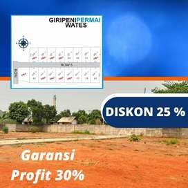 Inves Tanah Kavling SHM-P Area Kulonprogo, DISKON 25%