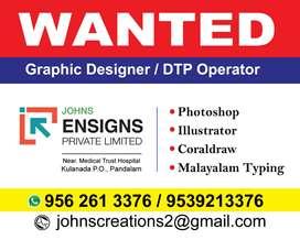 Graphic Designer / DTP Operator