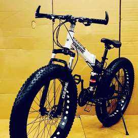 DZIRE 21 SHIMANO GEARS FAT FOLDABLE CYCLE NEW model