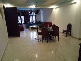 3bhk fully furnished with 2 car parking