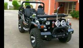 Modified willy jeep