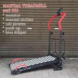 Treadmill manual 3 fungsi terbaru( harga grosir )