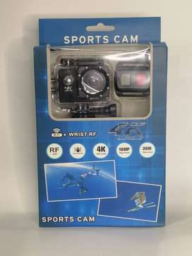 4K Spoets Action Camera With WIFI 2.4G Remote Control Waterproof Video