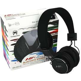 NIA Q8-851s Bluetooth 4-in-1 Bass Headphones Wireless AUX/FM/SD Card