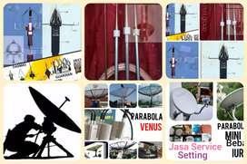 Toko ahli spesialis install ( Penangkal petir ) Parabola bebas iuran