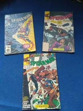 Tiga komik Spiderman