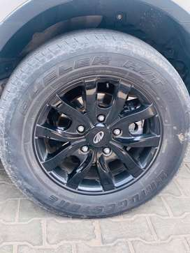 17inch original alloys xuv500