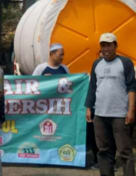Tandon air 2000 liter Sragen toren bahan plastik