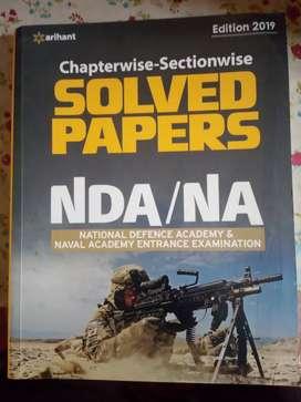 Arihant Solved papers NDA /NA