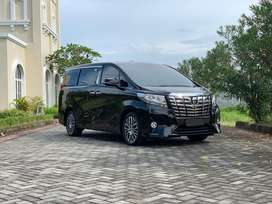 [LOW KM] Toyota Alphard 2.5 G ATPM Tahun 2017 very low km