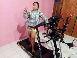 Treadmill elektrik 4 fungsi best seller ( terbaru) free ongkir