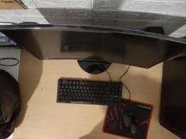 Komputer PC gaming asus ryzen 5