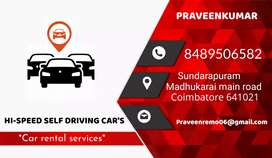 Self driving cars, cars rental services