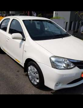Cng fitted Uber /ola etios taxi for sale