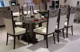 12 different Dining table designs inside with 8 chairs