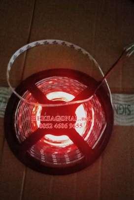 Lampu Led Strip 5M Waterproof Lampu Plafon Lampu Etalase Merah SMD