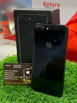 Iphone 7 plus 128gb jet black in brand new condition