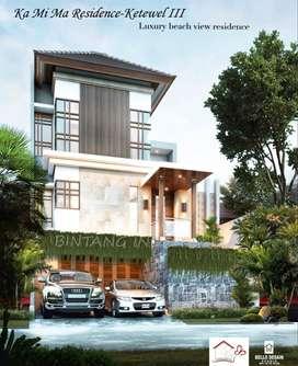 Jual Villa Mewah Kolam Renang View Laut Gianyar Bali