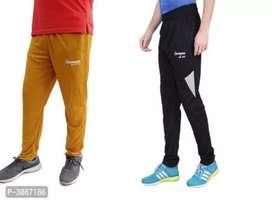 Men's polyester Blend Track Pants