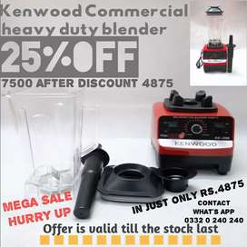 Kenwood Commercial heavy deauty blender in discount price 4875 hury up
