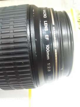 CANON 100MM ULTRASONIC 2.8 lens