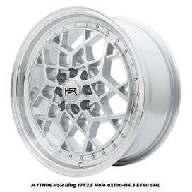 Jual Velg HSR MYTH06 Ring 17 Untuk Mobil Toyota Avanza