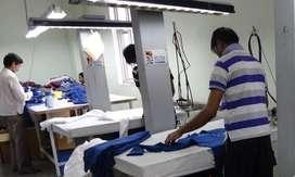 Required Pressman in Garment Factory in Sewri