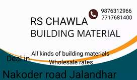 All kinds of building materials