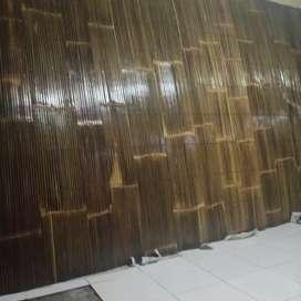 Tirai bambu coklad ori