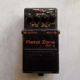 Efek Boss metalzone mt2