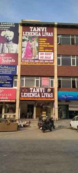 2400 sq ft hall on kharar mohali highway ideal for sale