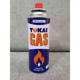 PROMO-GRATIS ONGKIR SEYK-GAS KALENG TOKAI GAS PORTABLE ISI 235GR BARU