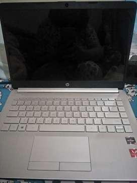 Jual laptop HP ryzen 3 SSD like new