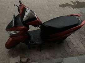 Honda grazia neo orange metallic
