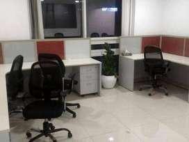 Semi Furnished 1400 sq ft Office space on rent at Shankar Nagar