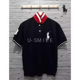 Polo shirt pria import