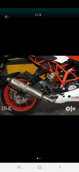 Full system Performance exhaust for KTM RC 390/200
