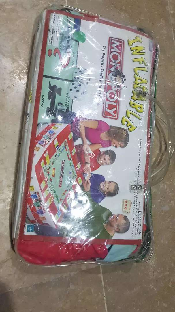 Inflatable Complete Monopoly Game Al makkah display 0