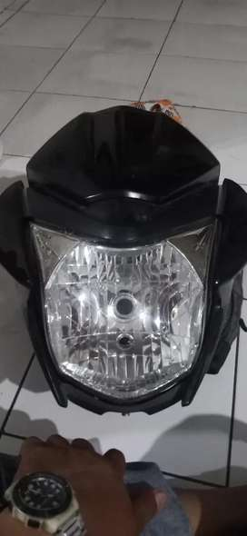 Lampu depan new megapro mono 2013