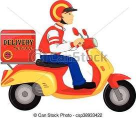 Delivery boy - Malviya  nagar