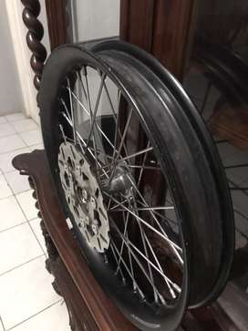 Velg TDR U uk.2.50&2.15 x 17