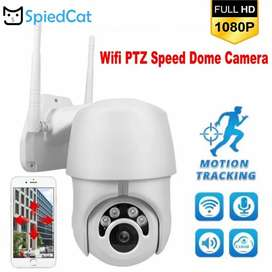 IP Wireless PTZ Camera V380 Full HD 1080P with Motion Tracking System