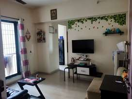 1bhk flat sale 37lakh, Ghodbunder road touch, thane west