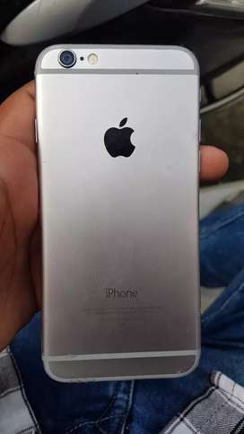 iphone 6 space grey 32 gb good condition with bill box chager