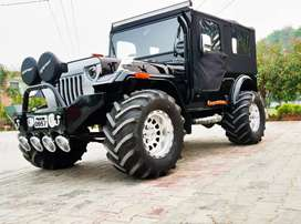 Jeep's modified open and closed