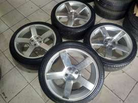 Jual velg racing untuk vios jazz freed swift spin R18