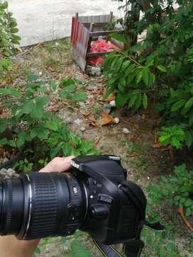 Nikon d5200 lensa 18 55 vr