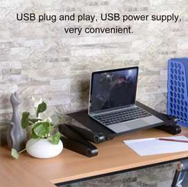 Adjustable Laptop Desk Portable TV Bed Lapdesk TrayNotebook Mouse pad